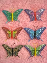 Large Butterfly Decorations by Bedroom Cute Removable 3d Butterflies Wall Craft Decorations For