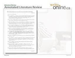 write online literature review writing guide parts of a