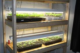 how to build an indoor seed starting rack cheap old world