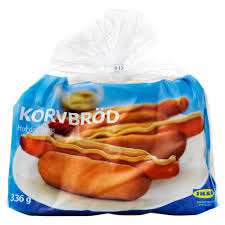 korvbröd dog bread frozen ikea