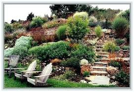 Landscaping Ideas For Sloped Backyard Sloped Backyard Landscape Ideas Hill Landscaping Ideas Landscape