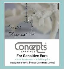 concepts earrings the silver king