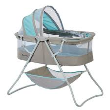 How To Keep Cats Out Of Baby Crib by Amazon Com Dream On Me Karley Bassinet Blue Grey Bassinet