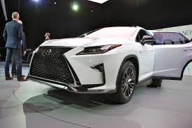 lexus nx vs rx the 2016 lexus rx tries to have fun by copying its little brother