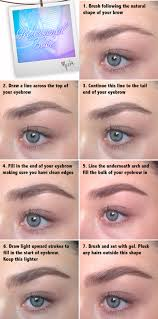 natural eyebrow tutorial professional
