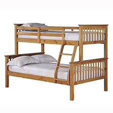Bunk Beds Pine Otto Trio Bunk Bed Pine Best Bunk Beds With Stairs