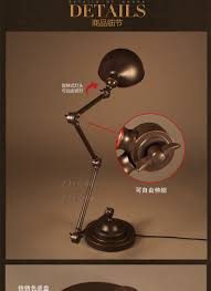 Antike Schlafzimmer Lampen Großhandel Antike Schlafzimmer Eisen Teleskop Schreibtisch Lampe