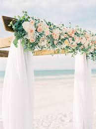 Wedding Arches Using Tulle Carlouel Yacht Club Clearwater Wedding Planner Parties A La Carte