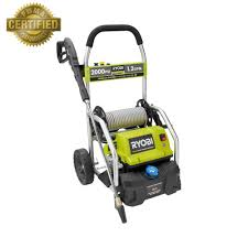 ryobi 2 000 psi 1 2 gpm electric pressure washer ry141900 the