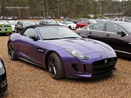 jaguar cars f type a purple jaguar f type r roadster spotted in pebble beach mind