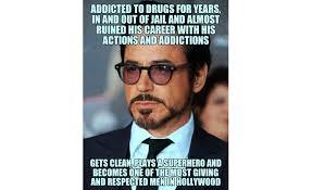 Drug Addict Meme - robert downey jr celebrates birthday and awesomes the world
