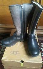 womens ugg bomber boots ugg black bomber boots ebay