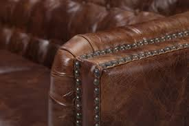 Distress Leather Chair The Brighton English Leather Sofa Rose And Moore