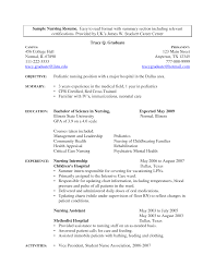 Nurses Resume Examples by Sample Nicu Rn Resume Nurse Resume Template Free Resume Format