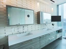furniture large mirror sliding door bathroom vanity and rectangle