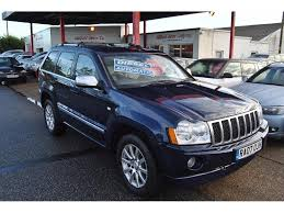 overland jeep grand cherokee used jeep grand cherokee suv 3 0 crd v6 overland 4x4 5dr in romney