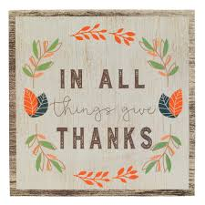 maison give thanks thanksgiving box sign