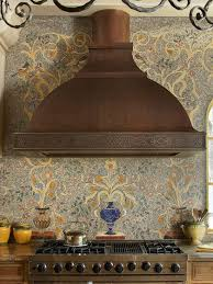 Best Backsplashes With Style Images On Pinterest Kitchen - Tuscan style backsplash