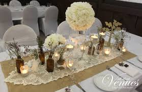 Cool Vintage Wedding Table Decoration With Flowers And Candelabra