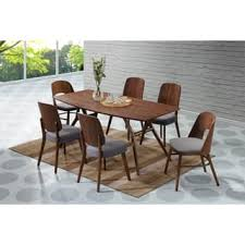 Modern Dining Table And Chairs Size 7 Piece Sets Dining Room Sets Shop The Best Deals For Dec