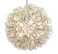 Lotus Pendant Light Flower Chandelier By Roost Rol801