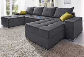 sofa federkern collection ab wohnlandschaft mit bettfunktion und federkern