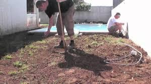 Dalle En Bois Pour Jardin by Terrasse Par Idecolo Youtube