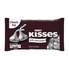 kisses milk chocolate 12 ounce bag hershey s