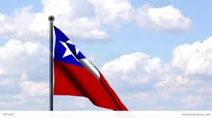 Cile Flag Animated Flag Of Chile Animierte Flagge Von Chil Stock Animation