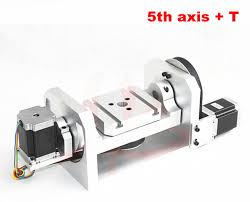 cnc 4th axis 5th axis a aixs rotary axis with table for cnc
