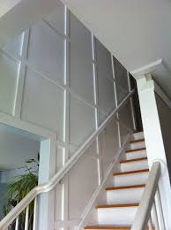 staircase wall design the quaint cottage update on the stairway wall molding