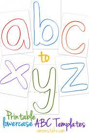 free abc printable templates abc printable printable letters
