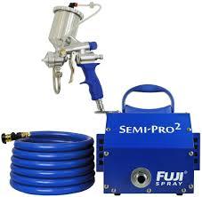 fuji 2203g semi pro 2 gravity hvlp spray system image