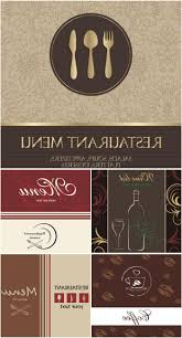 unique restaurant menu design templates vector file free free