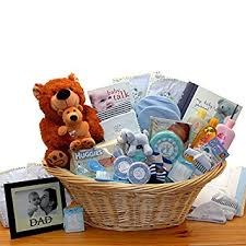 newborn gift baskets welcome baby newborn baby boy gift basket blue