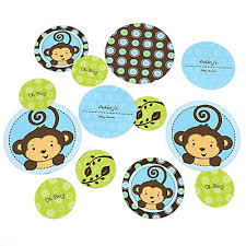 baby shower monkey monkey boy baby shower decorations theme babyshowerstuff