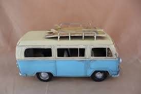 vintage surf car 10 u201d blue vintage surf van u2013 windsor gifts