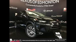 used lexus nx for sale canada 2017 black lexus nx 200t awd premium walkaround review west