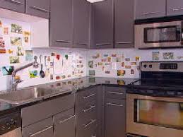 how to backsplash kitchen how to creating a magnetic backsplash hgtv