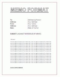 business memo format sample business memo format template
