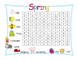 spring word search word search spring word search and classroom