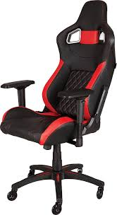 Video Game Chairs With Speakers Amazon Com Corsair T1 Race Gaming Chair High Back Desk U0026 Office