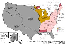 map of american as american states change 200 years timelapse map