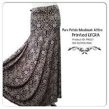 skirt labuh skirt labuh cantik petals muslimah attire