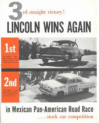 1954 carrera panamericana winning lincoln comes to lincoln