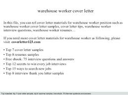 Resume Summary For Warehouse Worker Sample Resume Of Warehouse Worker Warehouse Worker Resume Sample