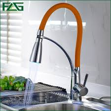 led kitchen faucet get cheap orange kitchen faucet aliexpress alibaba