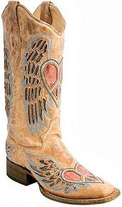 womens corral boots size 11 womens distressed wing and square toe corral boots