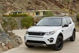 land rover discovery sport black 2015 land rover discovery sport white with 18 inch black alloy