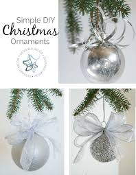 simple diy ornaments designed decor
